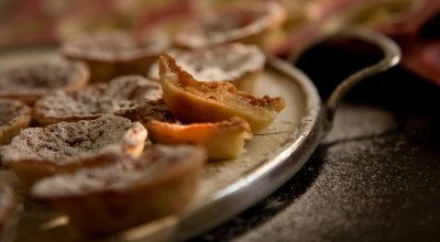 Brown sugar and apple mini-tartelettes